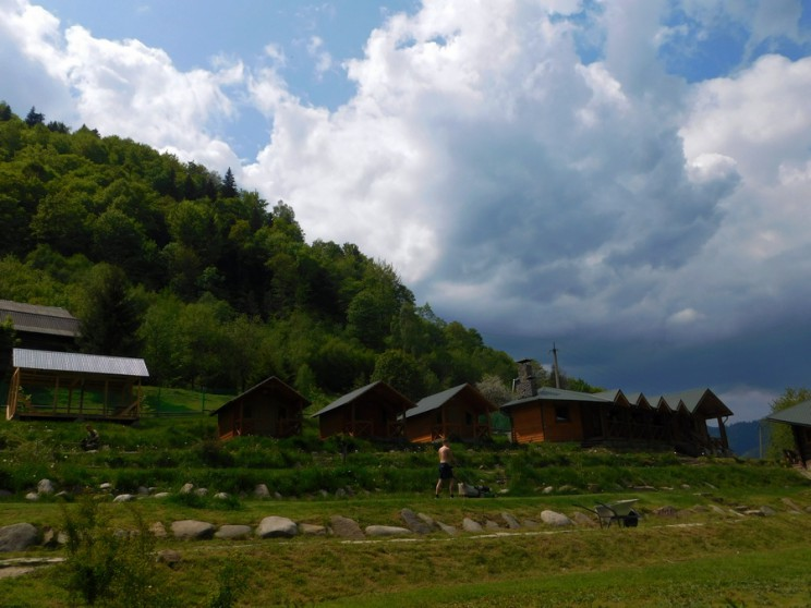 Погода в Карпатах: кемп Білий Слон, 24.05.2016