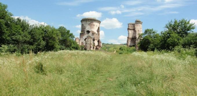 руїни замку Понінських